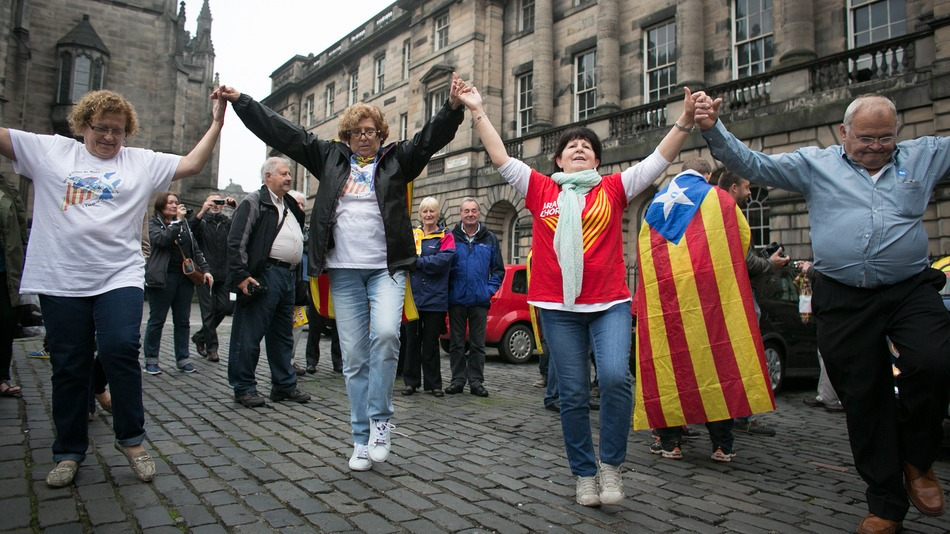 After Scotland, Catalonia Pushes Vote for Independence From Spain
